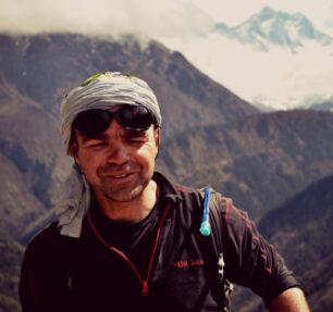 """Radek """"Rado"""" Kucharski - przewodnik. Górskie wyprawy, trekking w górach"""