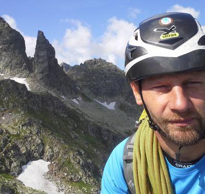 """Andrzej """"Jędrek"""" Chrobak - wysokogórski przewodnik tatrzański. Trekking w tatrach"""