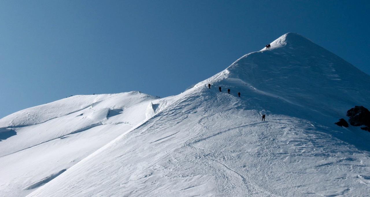 Wyprawa na Mont Blanc, Mont Blanc wycieczka