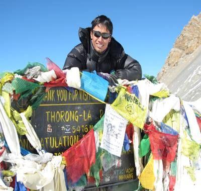 """Chandan """"Magar"""" Thapa - przewodnik trekkingowy. Wyprawy w góry"""