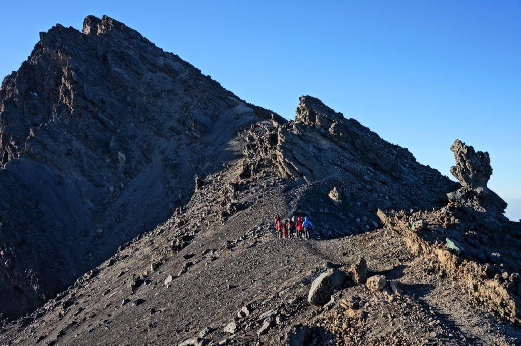 Mt. Meru - aklimatyzacja przed wyjściem na Kilimandżaro