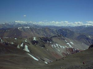 Panorama Cerro Donia Ana. Wyprawa górska w Andy. Exploruj.pl