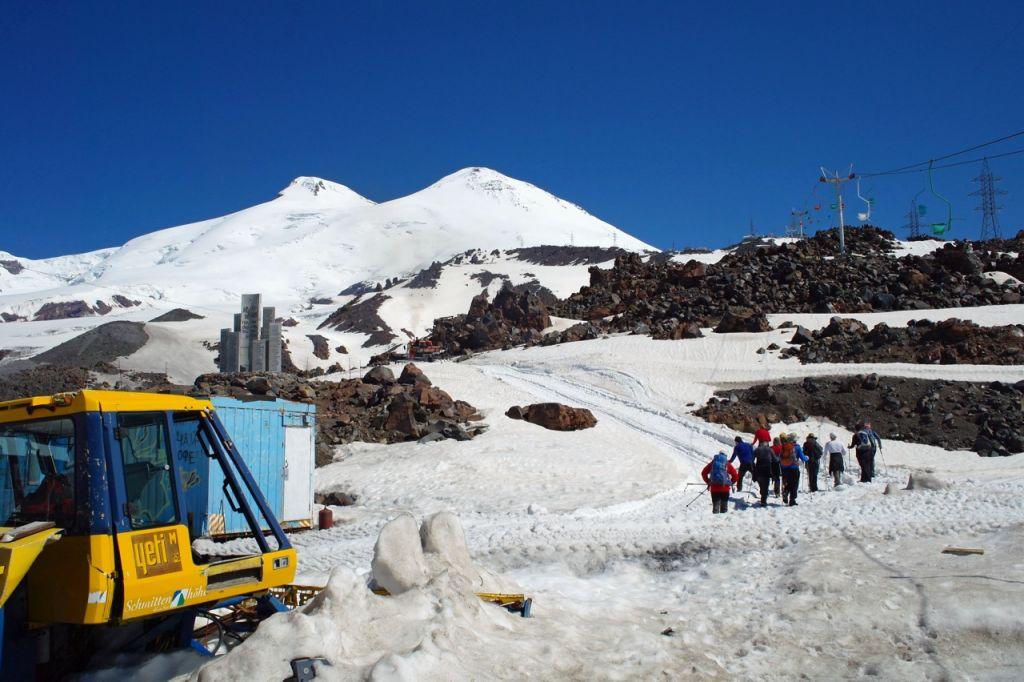 Elbrus - szczyt, na którym nietrudno o chorobę wysokościową