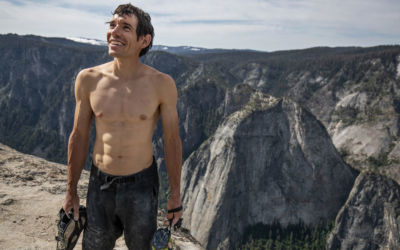 Alex Honnold, wspinaczka film Free Solo, ekstremalna górska przygoda