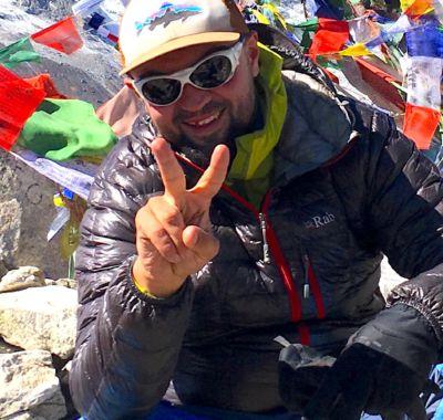 Zdjęcie przewodnika górskiego Bartka Kality