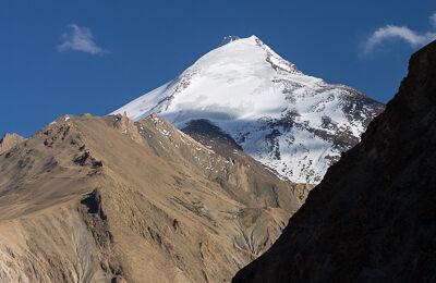 Widok na szczyt w Ladakhu