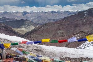Widok z przełęczy na trasie trekkingu