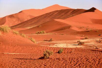 Wydmy na pustynie Namib