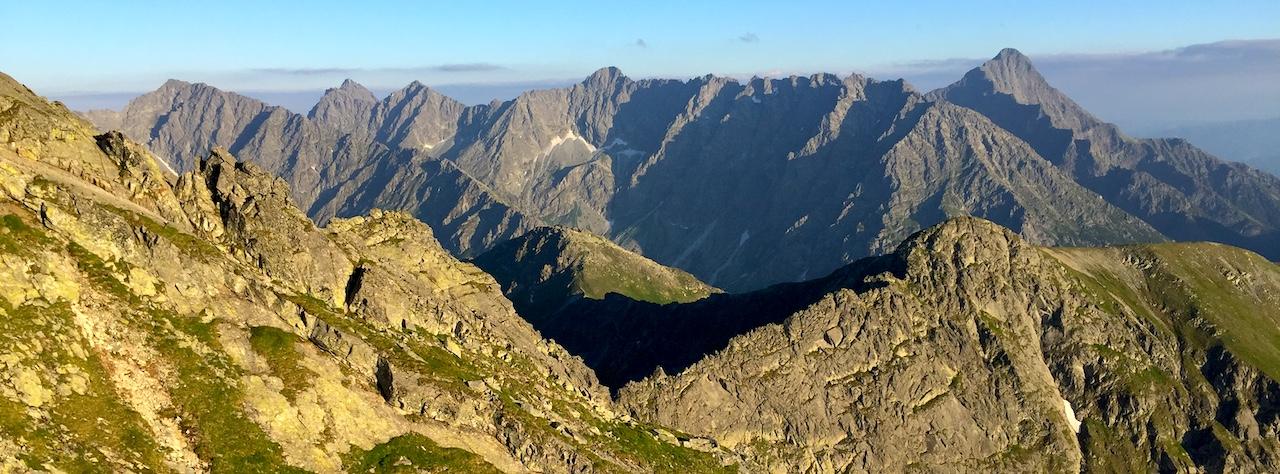 Widok panorama Tatr trekking z Exploruj.pl